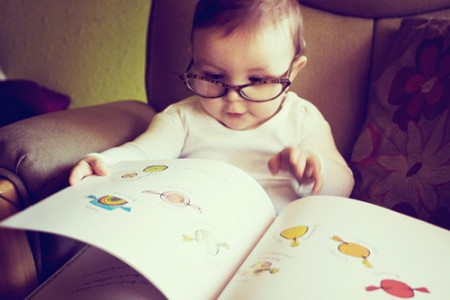 Babies + Glasses = yes.